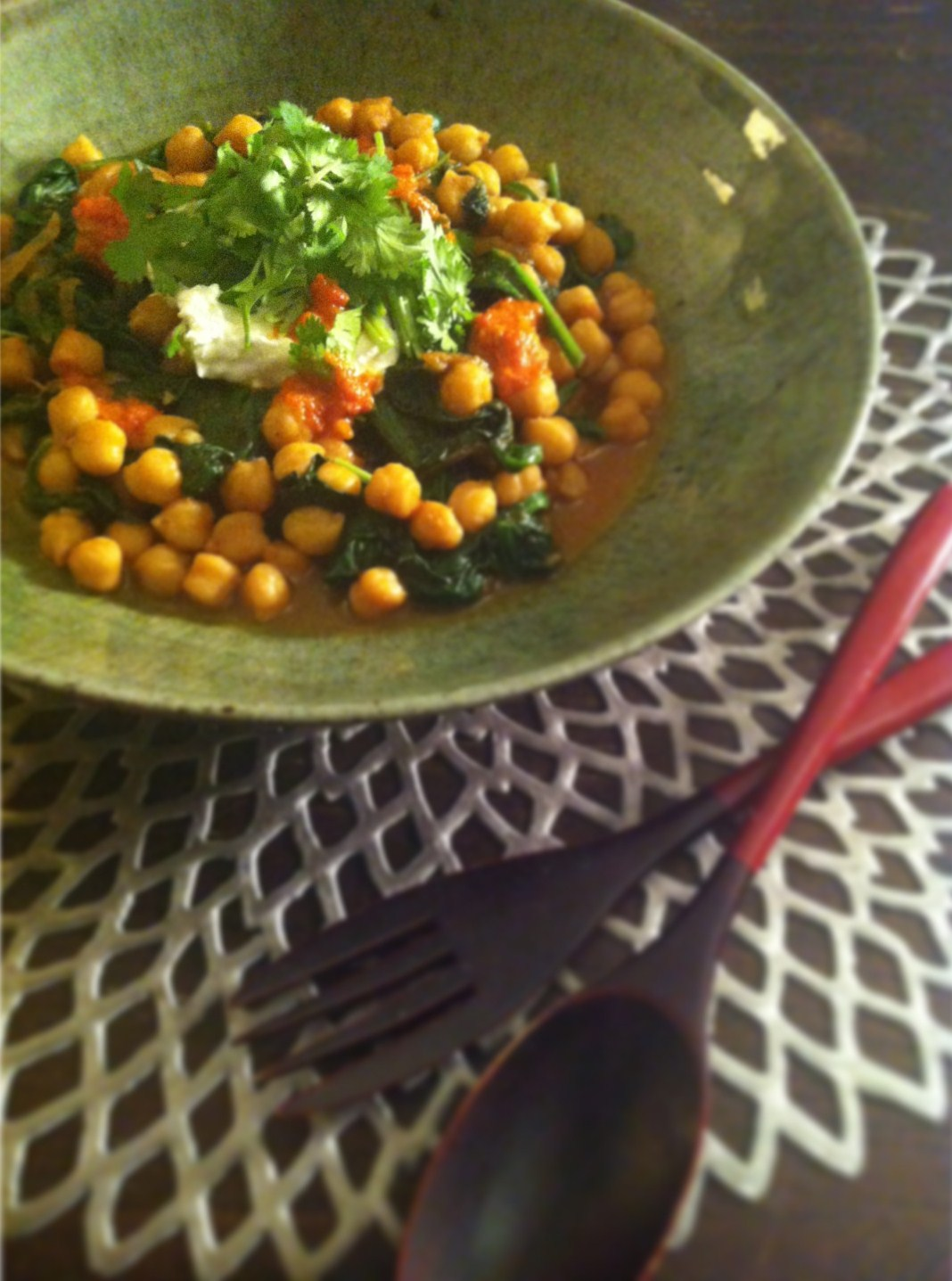 Recipe inspired by: Chickpea Stew at Gjelina (and the lack of Robert ...